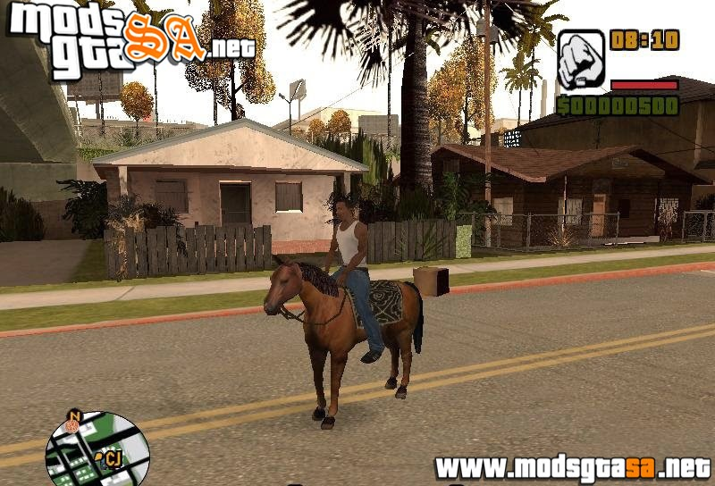 SA - Mod Cavalo em San Andreas