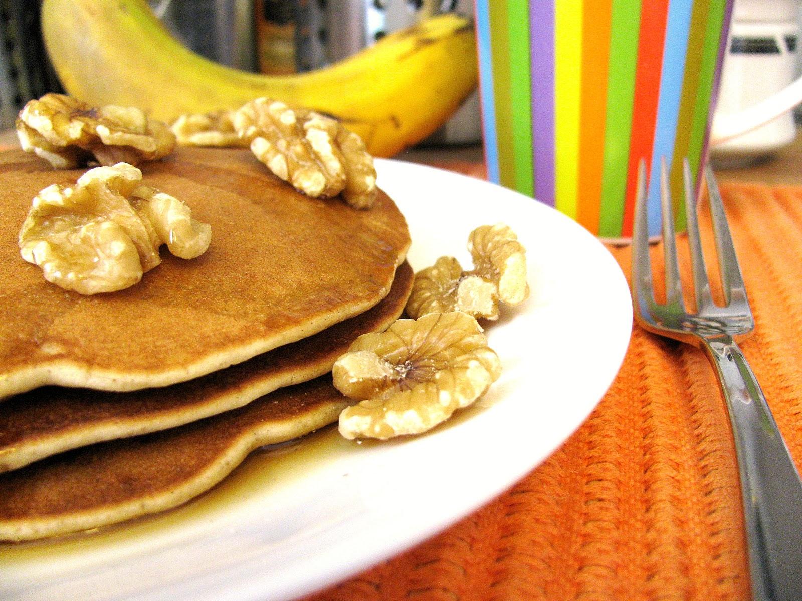 pancakes à la banane sans gluten/gluten free banana pancakes
