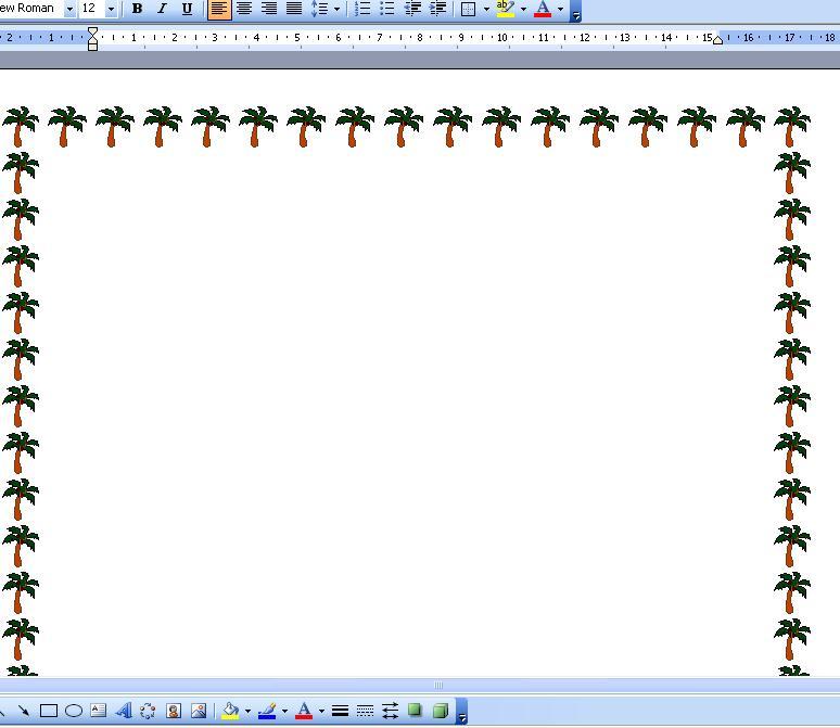 Borders for Microsoft Word 2010