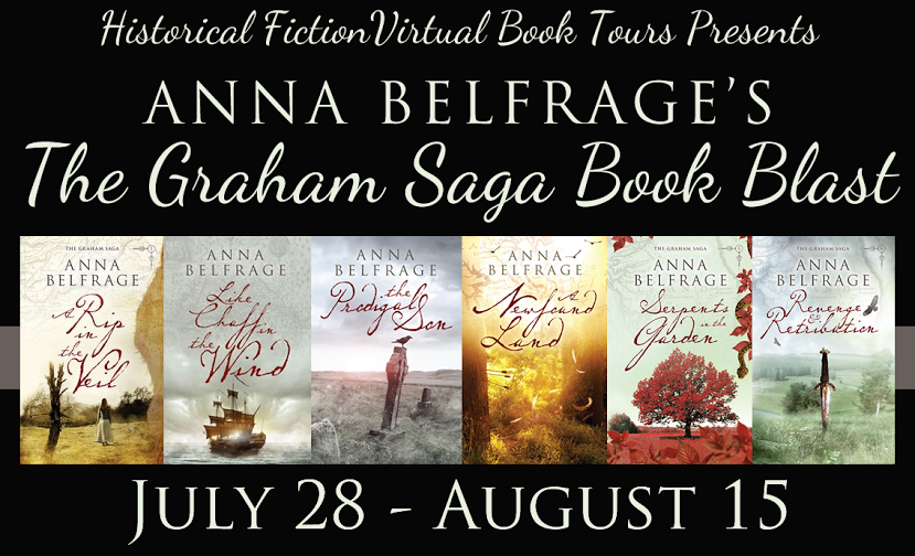 The Graham Saga by Anna Belfrage, A Book Blast by Historical Fiction Virtual Book Tours