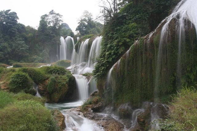 Silver Waterfall - Sapa Vietnam