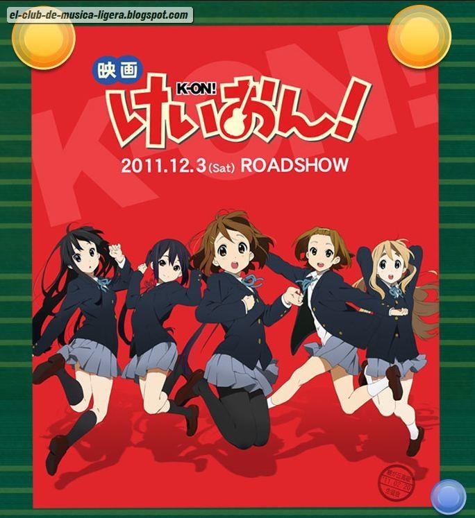 K-ON!! Película se estrenara el 3 de Diciembre K-ON-Pelicula-Estreno-3-diciembre