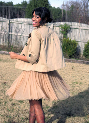Tulle Skirt Fashion Blogger