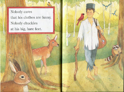 Goodbooksforkids exclusive sample page from Jane Kurtz's Johnny Appleseed