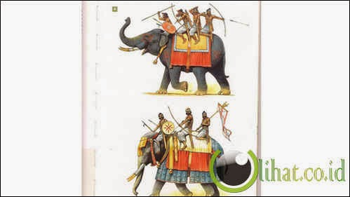 Persian War Elephant