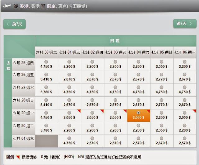 因為Zuji Load得比較慢,建議先係長榮官網搵左有得平既日子先,再去Zuji訂。