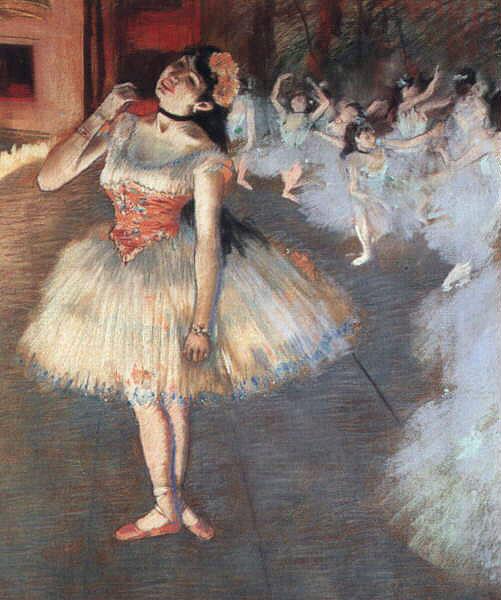 the star,edgar degas ballet,ballerina
