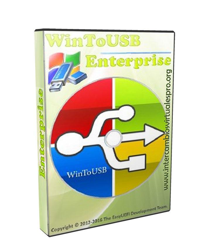 WinToUSB Enterprise 3.8 poster box cover