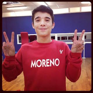 Moreno Donadoni ad Amici 12 dopo MTV