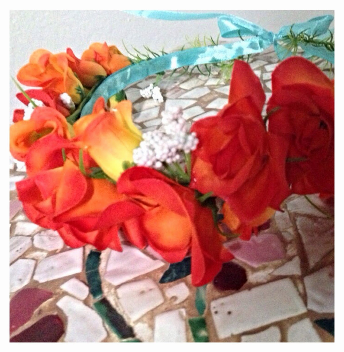 fatto a mano handmade diy tutorial floral crown