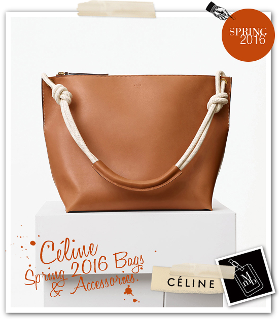 celine buckle-embellished handle bag