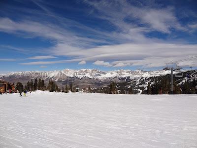 Telluride mountain top