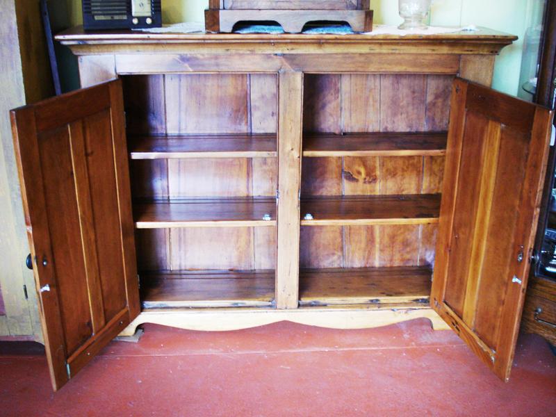 Custom Antiques Jam Cupboard Wicker Sewing Basket