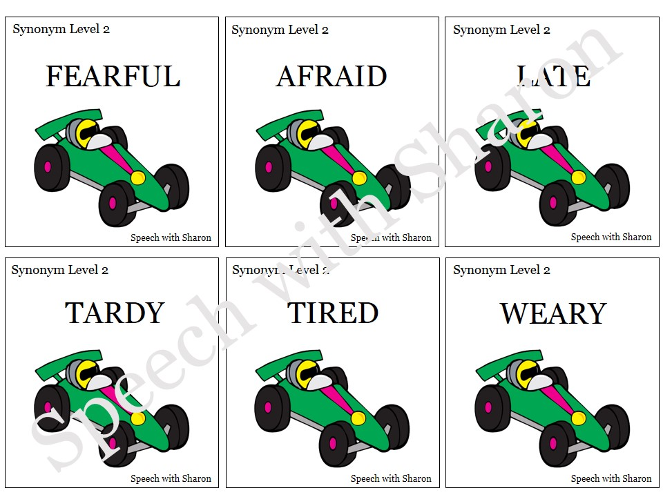 Speech with sharon race car synonyms and antonyms with for Coute synonyme