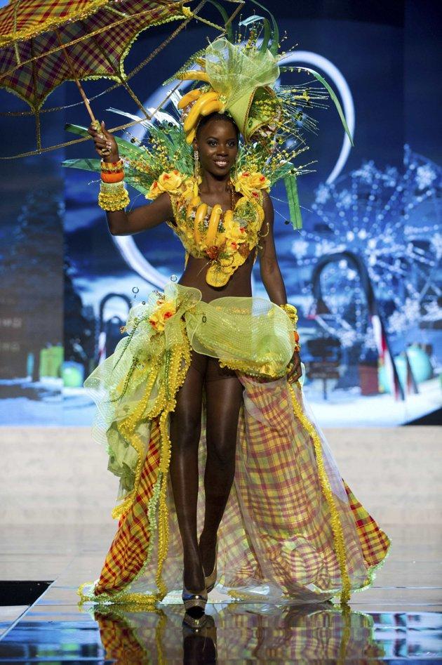 Miss Universe National Costume Show 2012 Lubica Stepanova