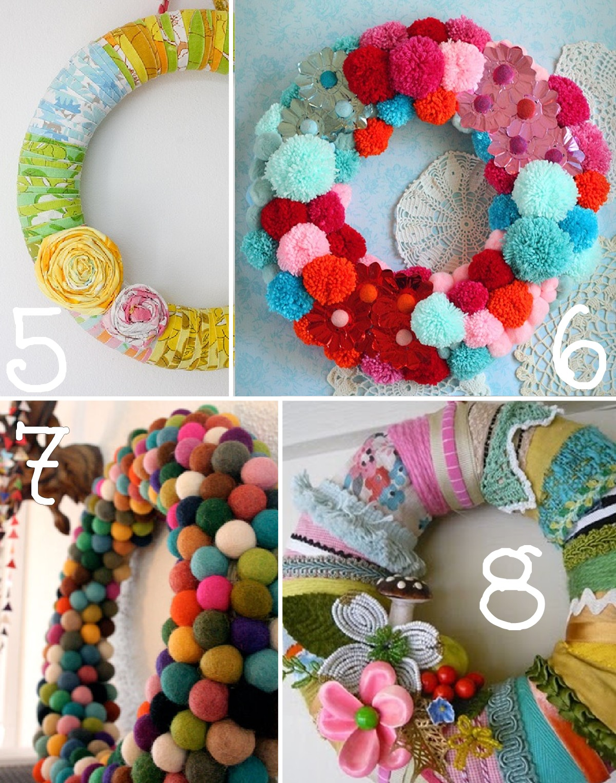 15 spring wreath ideas the scrap shoppe