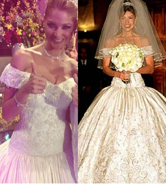 Fotos de vestido de novia de thalia