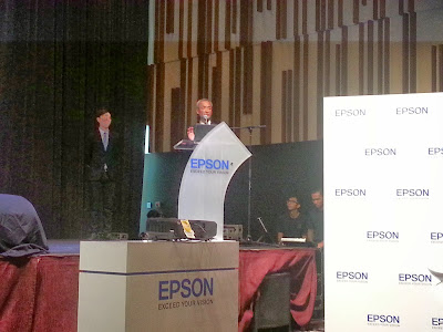 Epson Introduces new projection and high demand print industries