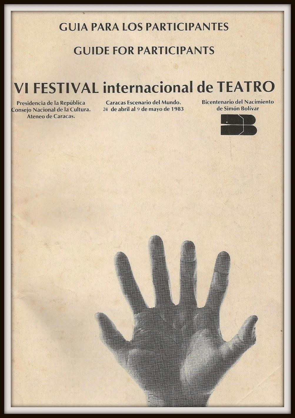 VI Festival Internacional de Teatro de Caracas 1983