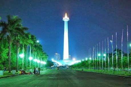 Medan Merdeka monument, Jakarta, Indonesien