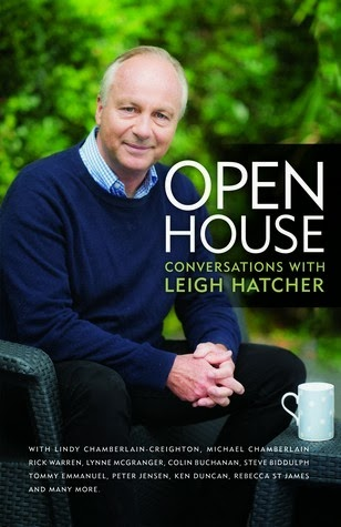 Book review, Open House Conversations with Leigh Hatcher, Christian books, Lindy Chamberlain, Rick Warren, Judith Durham