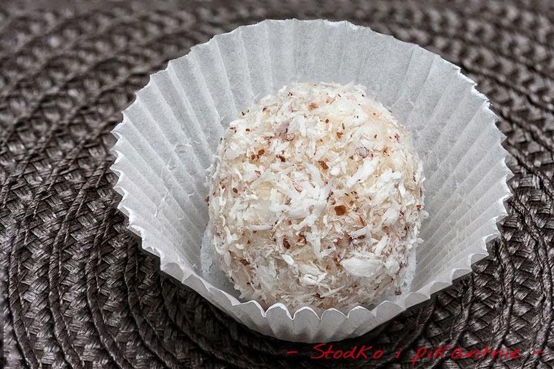 Trufla kokosowa z bliska