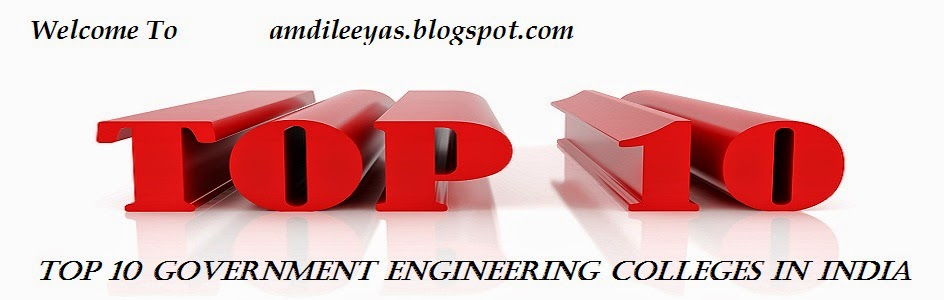 Top 10 Government Engineering Colleges in India