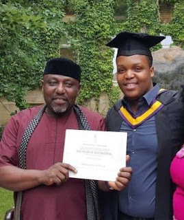 Gov. Okorocha's Son Flown To London For Medical Treatment After Slumping