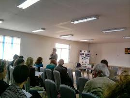 Aspect de la consfătuirea anuală a profesorilor de istorie din Neamţ, 17.09.2013...