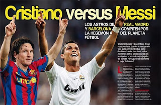 Cristiano Ronaldo Vs Lionel Messi (vídeo)