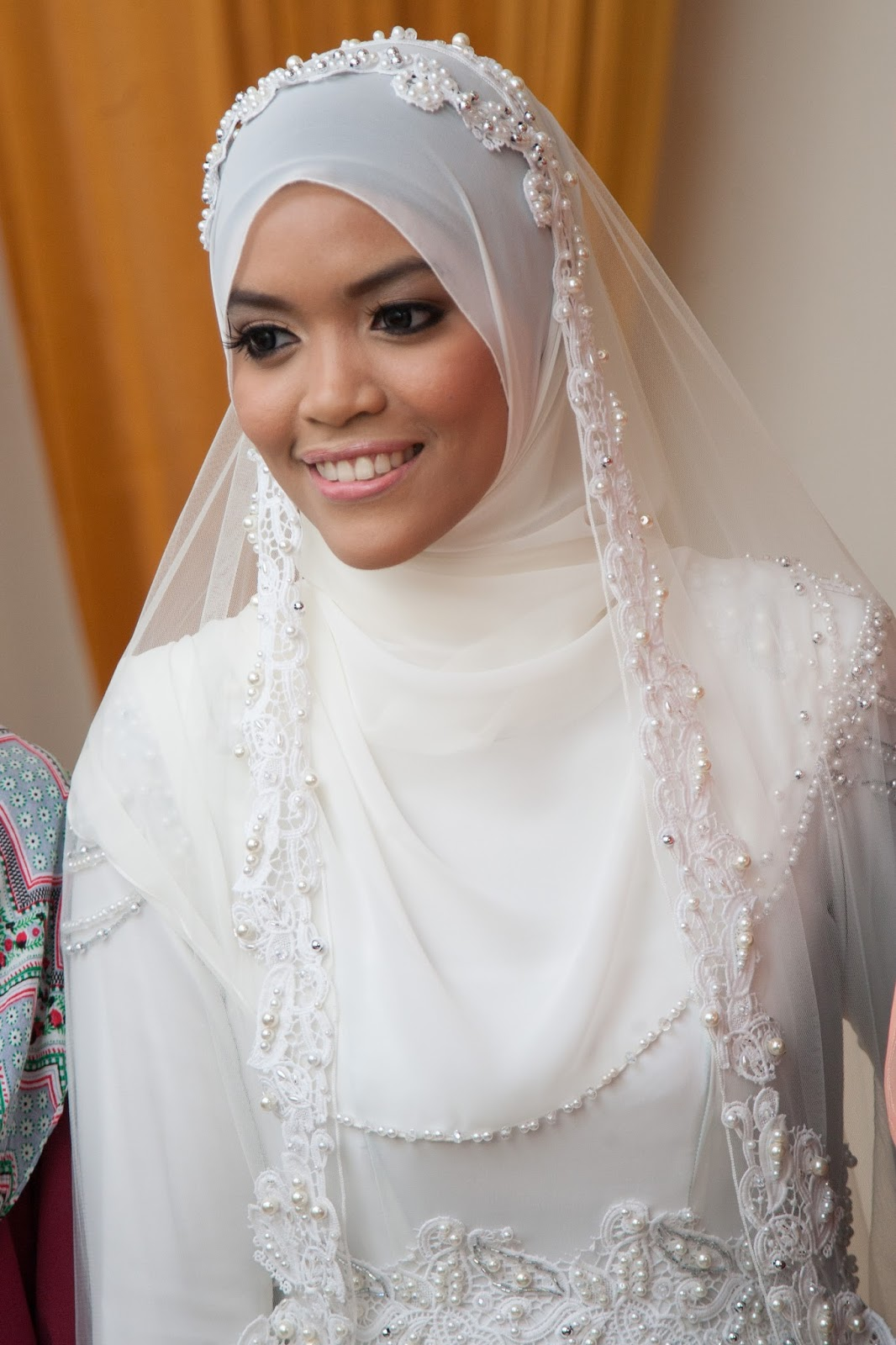 Baju Nikah Putih Pearl Baju Akad Nikah Tunang Putih My