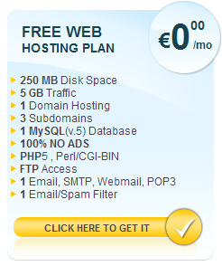 Free Website Hosting With AwardSpace