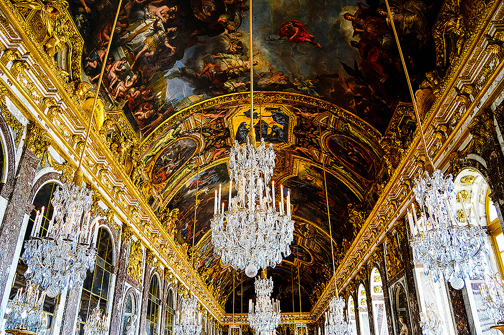 Palace of Versailles, Hall of mirrors, Paris Trip
