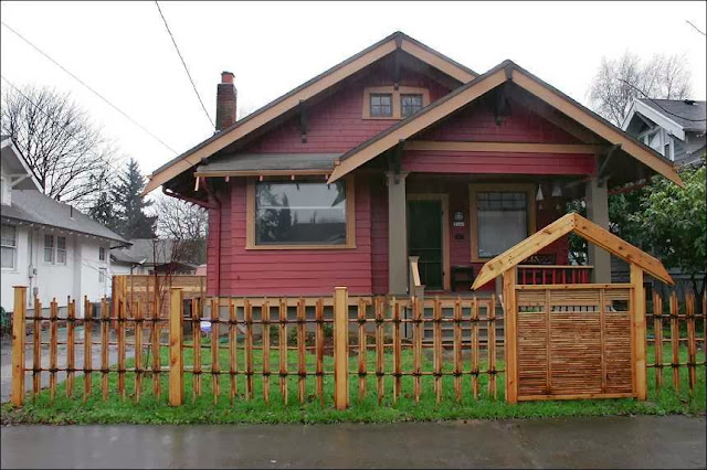 modern Front Yards Fence Designs