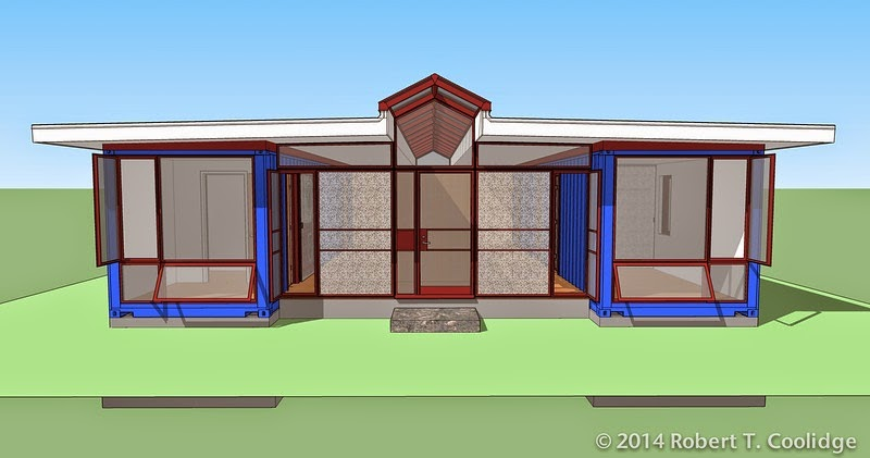 Container home blog three bedroom container home design - Container home blog ...