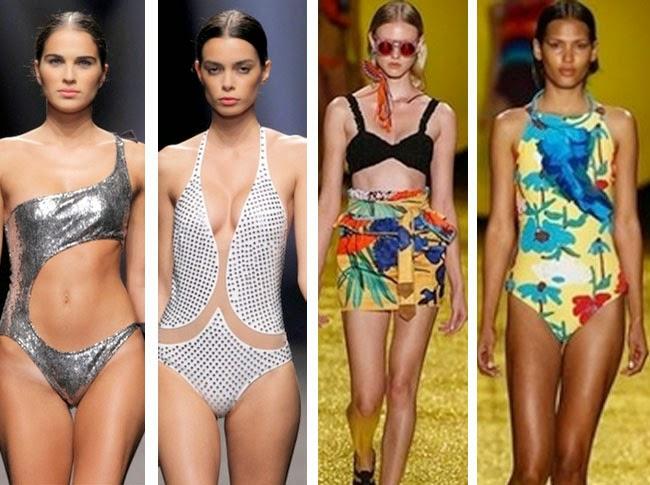 Look like a model: moda mare estate 2015: tutti i costumi interi che
