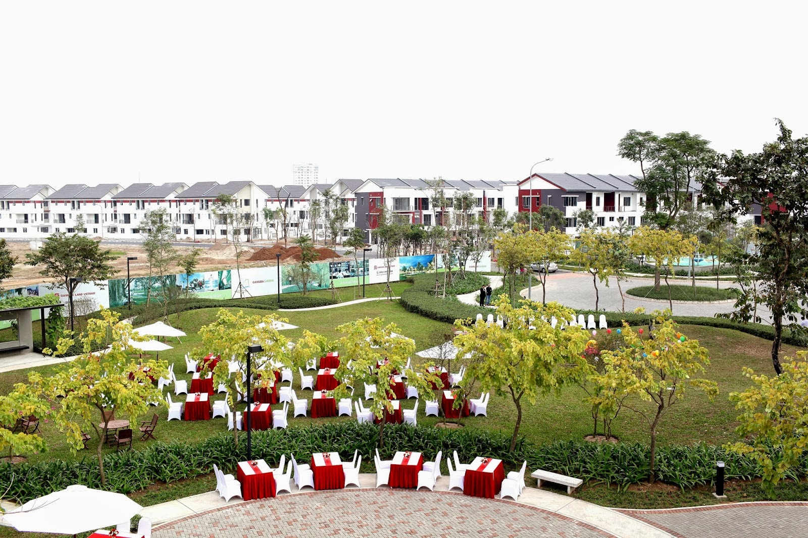 Cảnh quan Gamuda Gardens
