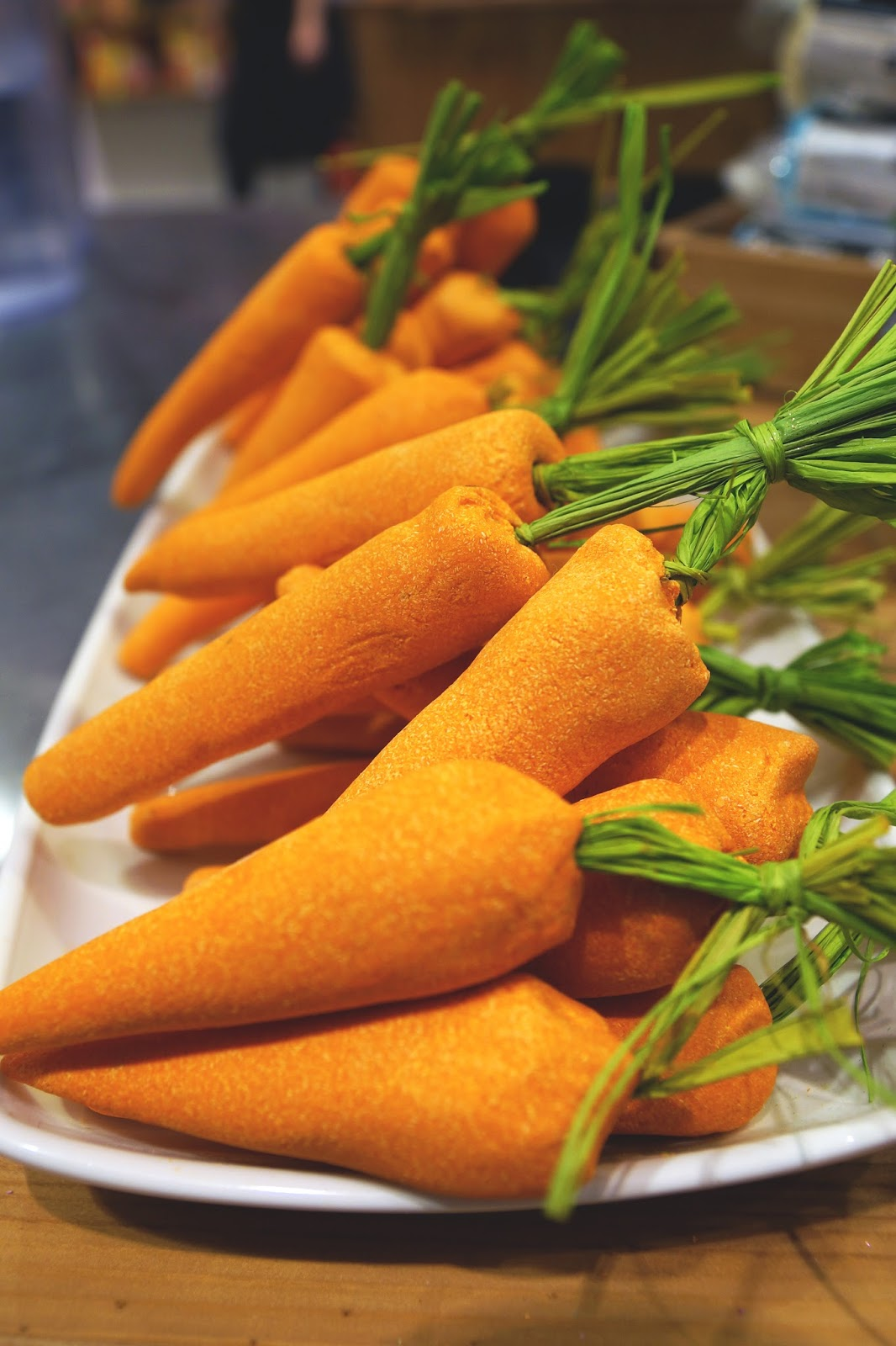 Hello Freckles LUSH Easter 2015 Bunch of Carrots