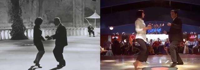 Pulp Fiction Fellini's 8/12 dance sequence