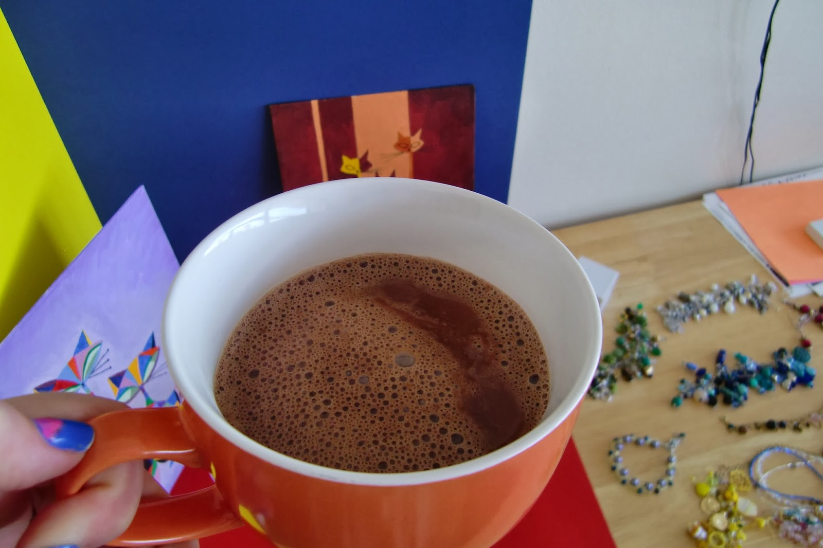 ... Adventures of Emerald Erin: Tipsy Tuesday: Hazelnut Dark Hot Chocolate