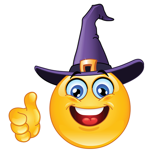 Halloween Facebook Smiley