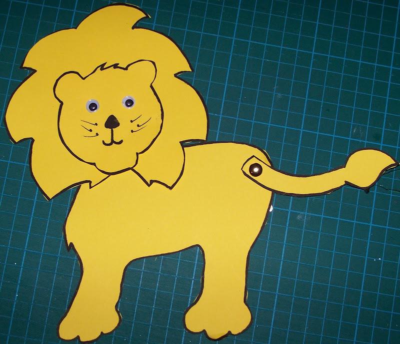 Лев поделка своими руками из бумаги 152