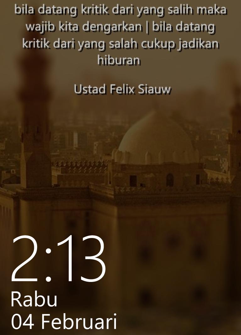 Kata-kata Mutiara Penuh Hikmah by Ust. Felix