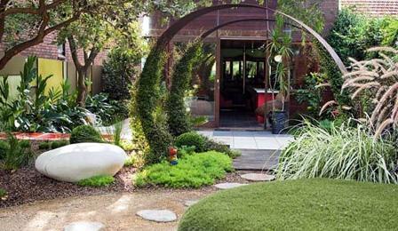 diseño de jardines pequeños hermosos, ideas para jardines