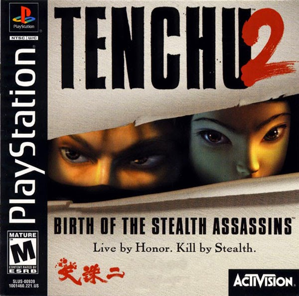 Download Game Tenchu 2 ISO Birth Of The Stealth Assasins PS1