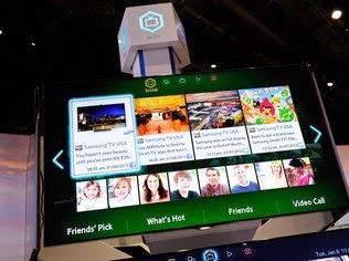 Smart TVs vêm com aplicativos para acesso a serviços de vídeo