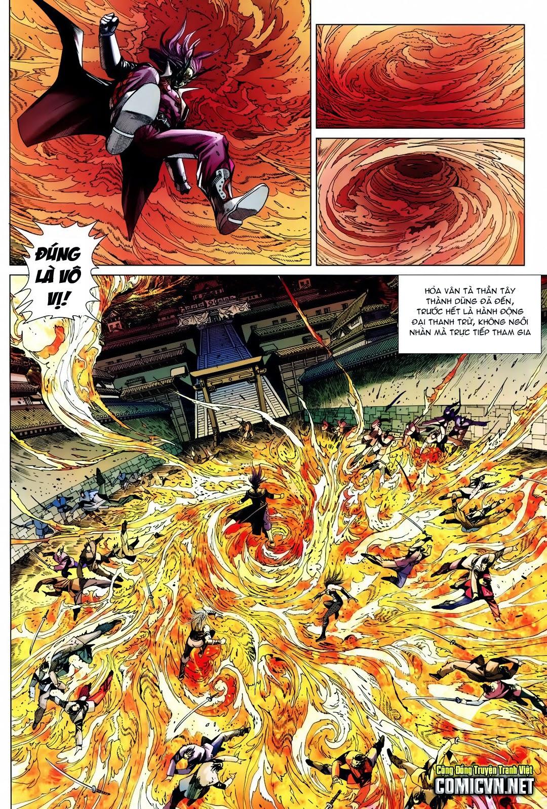 Tân Tác Long Hổ Môn: Chapter 712: Tà Thần quyết chiến Tà Thần