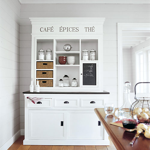 Dekolor en busca y captura vitrinas y alacenas blancas - Alacena cocina ...