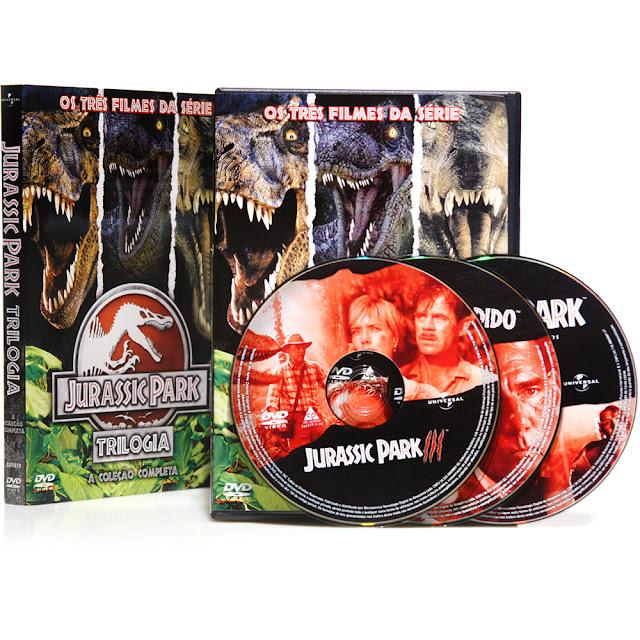 Tremors 4 12: TREMORS: Box Trilogia Jurassic Park