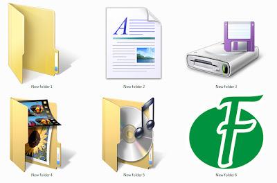 Mengganti Ikon Folder